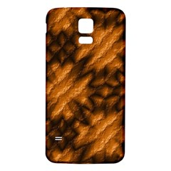 Background Texture Pattern Samsung Galaxy S5 Back Case (white)