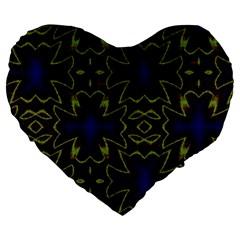 Background Texture Pattern Large 19  Premium Heart Shape Cushions