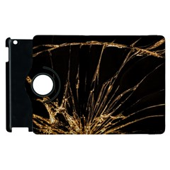 Background Abstract Structure Apple Ipad 2 Flip 360 Case