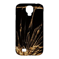 Background Abstract Structure Samsung Galaxy S4 Classic Hardshell Case (pc+silicone)
