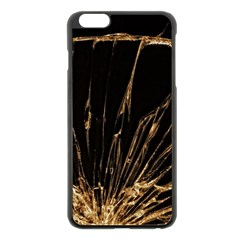 Background Abstract Structure Apple Iphone 6 Plus/6s Plus Black Enamel Case