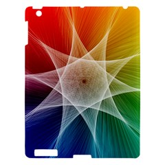 Abstract Star Pattern Structure Apple Ipad 3/4 Hardshell Case