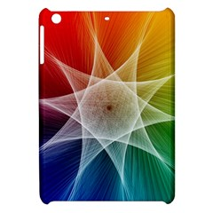 Abstract Star Pattern Structure Apple Ipad Mini Hardshell Case