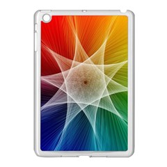 Abstract Star Pattern Structure Apple Ipad Mini Case (white)