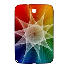 Abstract Star Pattern Structure Samsung Galaxy Note 8 0 N5100 Hardshell Case