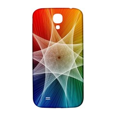Abstract Star Pattern Structure Samsung Galaxy S4 I9500/i9505  Hardshell Back Case
