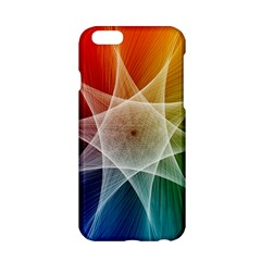Abstract Star Pattern Structure Apple Iphone 6/6s Hardshell Case
