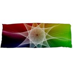 Abstract Star Pattern Structure Body Pillow Case (dakimakura)