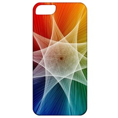 Abstract Star Pattern Structure Apple Iphone 5 Classic Hardshell Case