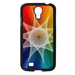 Abstract Star Pattern Structure Samsung Galaxy S4 I9500/ I9505 Case (black)