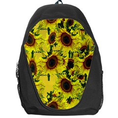 Sun Flower Pattern Background Backpack Bag