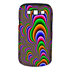 Fractal Background Pattern Color Samsung Galaxy S Iii Classic Hardshell Case (pc+silicone)