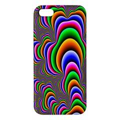 Fractal Background Pattern Color Iphone 5s/ Se Premium Hardshell Case