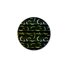 Abstract Dark Blur Texture Golf Ball Marker (4 Pack)