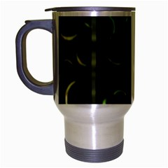 Abstract Dark Blur Texture Travel Mug (silver Gray)