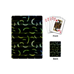 Abstract Dark Blur Texture Playing Cards (mini)