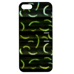 Abstract Dark Blur Texture Apple Iphone 5 Hardshell Case With Stand