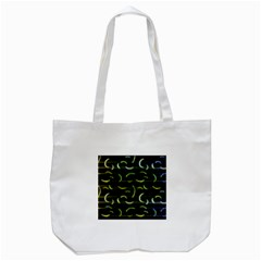 Abstract Dark Blur Texture Tote Bag (white)