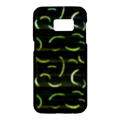 Abstract Dark Blur Texture Samsung Galaxy S7 Hardshell Case