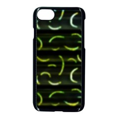 Abstract Dark Blur Texture Apple Iphone 7 Seamless Case (black)