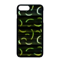Abstract Dark Blur Texture Apple Iphone 8 Plus Seamless Case (black)