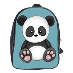 Cute Panda School Bag (xl)