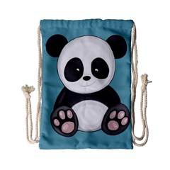 Cute Panda Drawstring Bag (small)