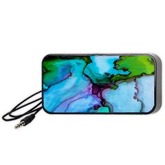 Abstract Painting Art Portable Speaker