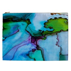 Abstract Painting Art Cosmetic Bag (xxl)