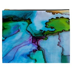 Abstract Painting Art Cosmetic Bag (xxxl)