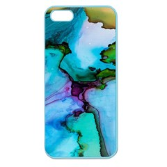 Abstract Painting Art Apple Seamless Iphone 5 Case (color)