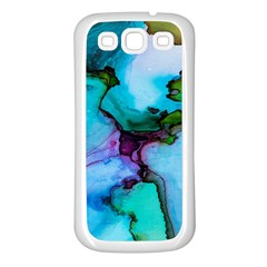 Abstract Painting Art Samsung Galaxy S3 Back Case (white)