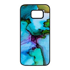 Abstract Painting Art Samsung Galaxy S7 Edge Black Seamless Case