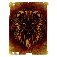 Lion Wild Animal Abstract Apple Ipad 3/4 Hardshell Case (compatible With Smart Cover)