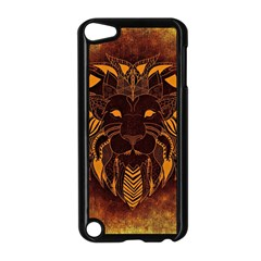Lion Wild Animal Abstract Apple Ipod Touch 5 Case (black)