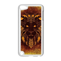 Lion Wild Animal Abstract Apple Ipod Touch 5 Case (white)