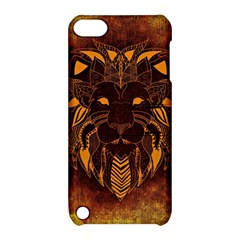 Lion Wild Animal Abstract Apple Ipod Touch 5 Hardshell Case With Stand