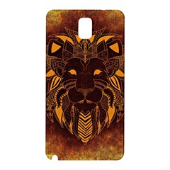 Lion Wild Animal Abstract Samsung Galaxy Note 3 N9005 Hardshell Back Case