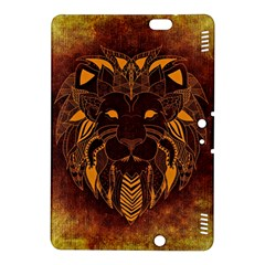 Lion Wild Animal Abstract Kindle Fire Hdx 8 9  Hardshell Case