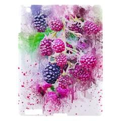 Blackberry Fruit Art Abstract Apple Ipad 3/4 Hardshell Case