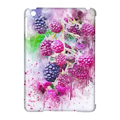 Blackberry Fruit Art Abstract Apple Ipad Mini Hardshell Case (compatible With Smart Cover)