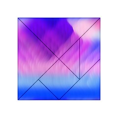 Background Art Abstract Watercolor Acrylic Tangram Puzzle (4  X 4 )