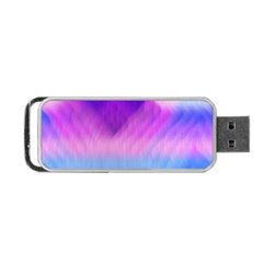 Background Art Abstract Watercolor Portable Usb Flash (two Sides)
