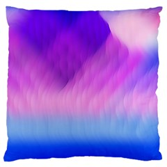 Background Art Abstract Watercolor Large Flano Cushion Case (one Side)