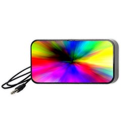 Creativity Abstract Alive Portable Speaker