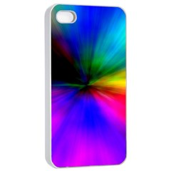 Creativity Abstract Alive Apple Iphone 4/4s Seamless Case (white)