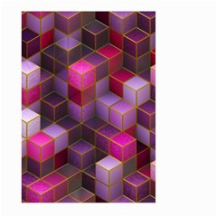 Cube Surface Texture Background Large Garden Flag (two Sides)