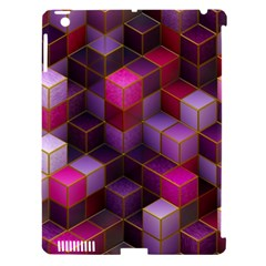 Cube Surface Texture Background Apple Ipad 3/4 Hardshell Case (compatible With Smart Cover)