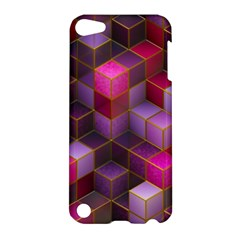Cube Surface Texture Background Apple Ipod Touch 5 Hardshell Case