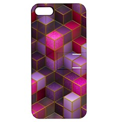 Cube Surface Texture Background Apple Iphone 5 Hardshell Case With Stand